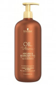 Schwarzkopf Oil Ultime Argan & Barbary fig Шампунь для волос, 1000 мл.