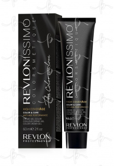 Revlon Revlonissimo High Coverage 6 Темный русый, 60 мл.