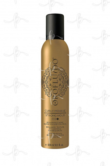 Orofluido Original Curly Mousse Мусс для создания завитков, 300 мл.