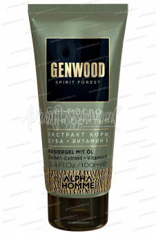 Estel Alpha Homme Genwood Gel-масло для бритья, 100 мл
